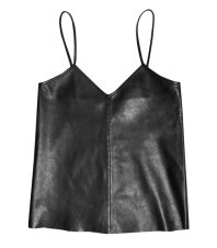Iris and Ink Ava leather tank top as seen on Rihanna