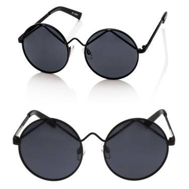 Le Specs Wild Child round sunglasses as seen on Rihanna