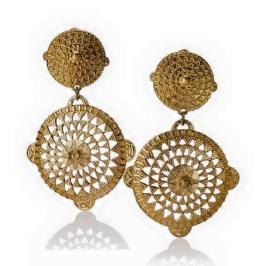 Stazia Loren vintage earrings as seen on Rihanna