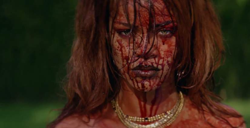 Rihanna Camilla Dietz Bergeron vintage necklaces Bitch Better Have My Money video