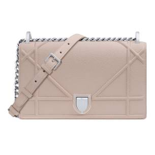 Dior tan Diorama handbag as seen on Rihanna