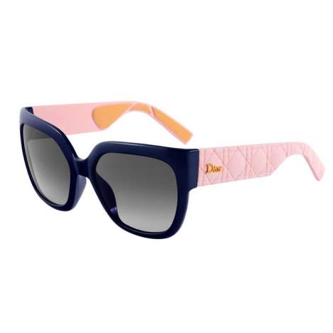 Christian Dior My Dior blue and rose sunglasses as seen on Rihanna