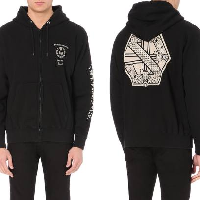 Blackmeans dragon motif hoodie as seen on Rihanna