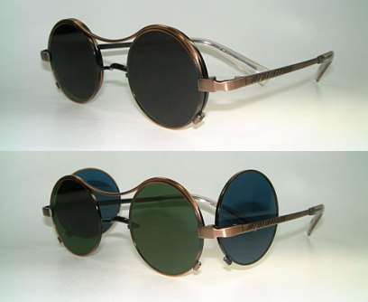 Junior Gaultier x Jean Paul Gaultier vintage side lens sunglasses as seen on Rihanna