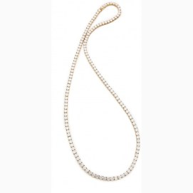 Fallon Classique crystal strand necklace as seen on Rihanna