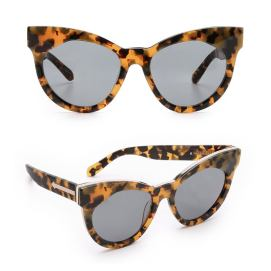 Karen Walker Starburst cat-eye sunglasses as seen on Rihanna