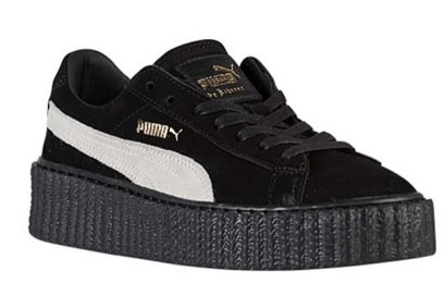 Puma by Rihanna suede creepers as seen on Rihanna