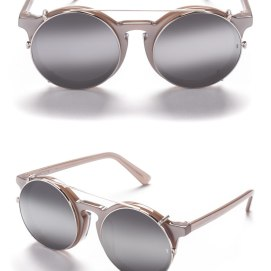 Sunday Somewhere Matahari sunglasses in silver as seen on Rihanna