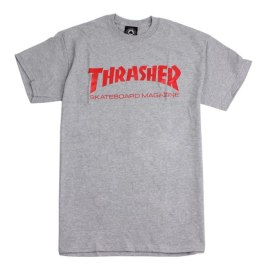Thrasher skate mag t-shirt as seen on Rihanna