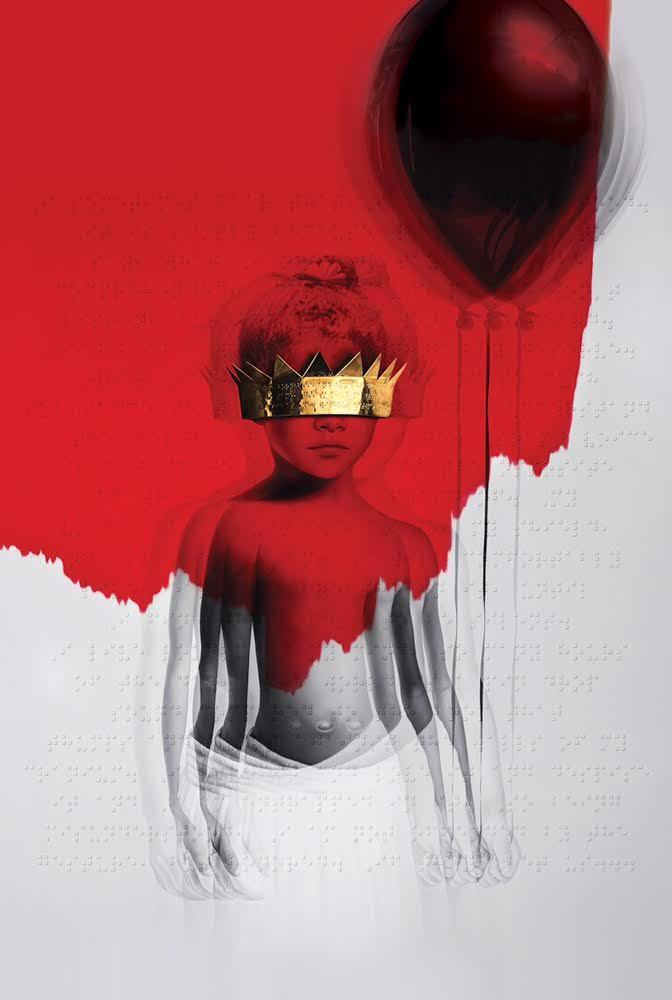 Rihanna Anti album cover art