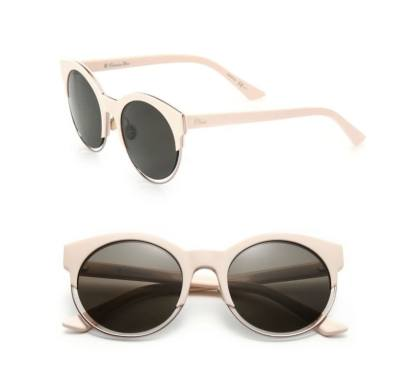 Dior Sideral round sunglasses as seen on Rihanna
