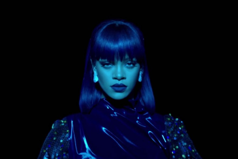 Rihanna ANTIdiaRy Fyodor Golan Fall 2014, Butani diamond earrings