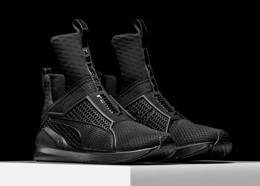 Rihanna Fenty x Puma Trainer sneakers in Blackout