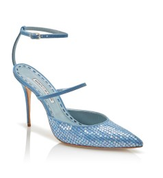 Rihanna x Manolo Blahnik sequinned pump