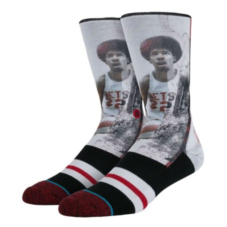 Stance NBA Legend - Julius Irving New Jersey Nets socks as seen on Rihanna