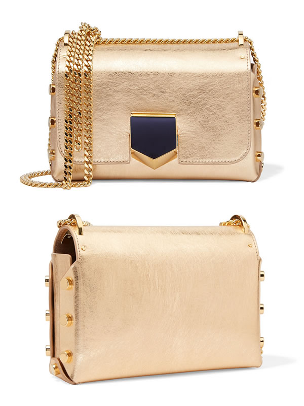 Jimmy Choo Lockett Petite bag with stud detail as seen on Rihanna