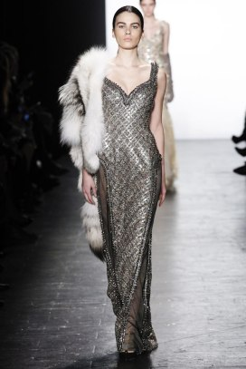 Dennis Basso Fall 2016 fox fur stole as seen on Rihanna