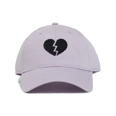 Harding Lane for Opening Ceremony lilac broken heart cap as seen on Rihanna
