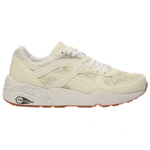 Puma R698 Trinomic sneakers in natural calm beige as seen on Rihanna