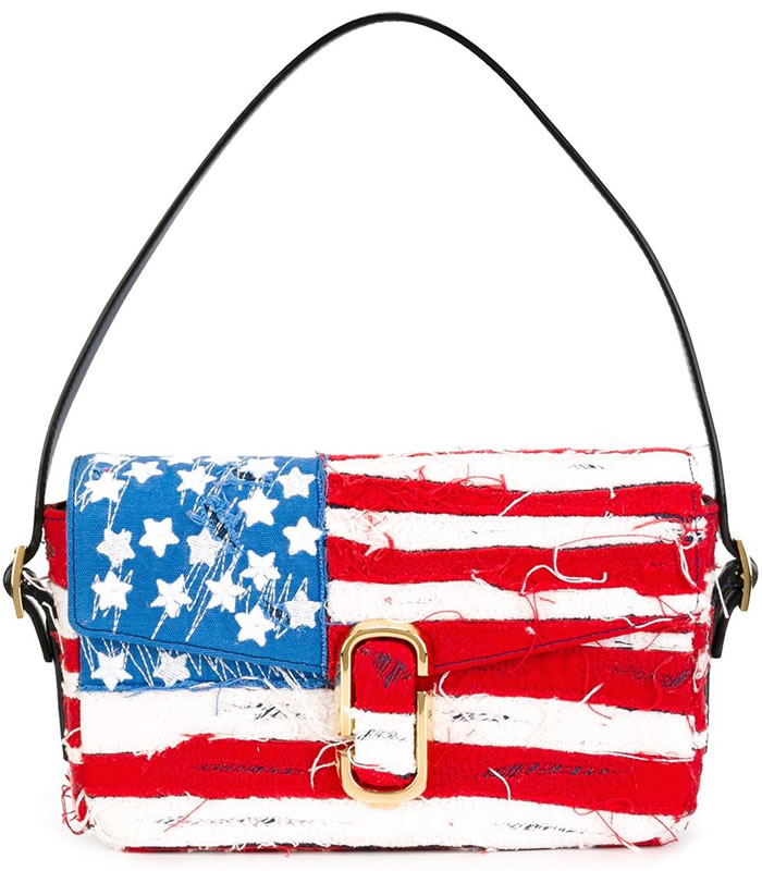 Marc Jacobs American flag handbag