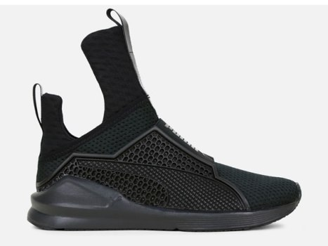 Fenty Puma by Rihanna The Trainer black sneakers