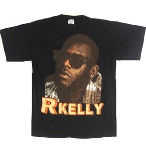 R Kelly vintage Your Body's Calling Me t-shirt as seen on Rihanna