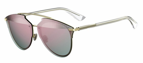 "Dior ""Dior Reflected"" pink sunglasses as seen on Rihanna"