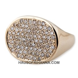Jacquie Aiche oval signet ring as seen on Rihanna
