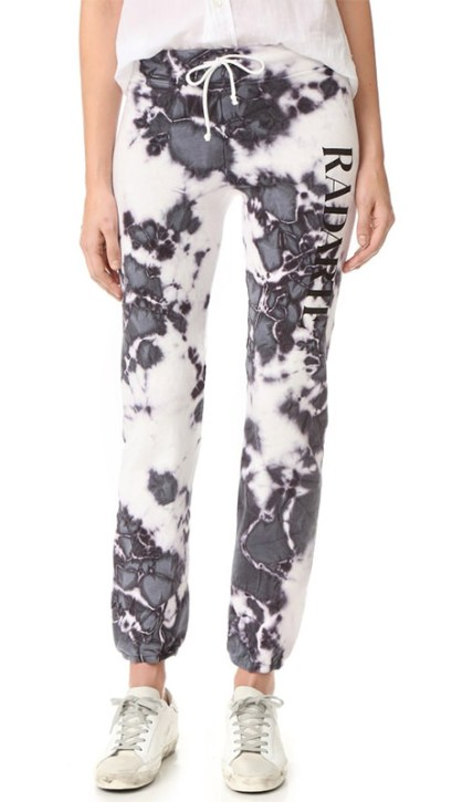 Rodarte Radarte tie dye sweatpants as seen on Rihanna