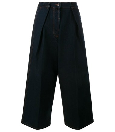 Dries Van Noten Phoebe wide leg jeans as seen on Rihanna