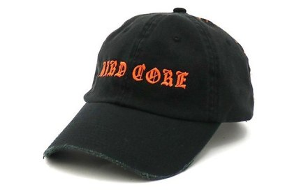 Misbhv Hard Core embroidered cap as seen on Rihanna