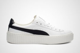 Fenty x Puma white/black creeper