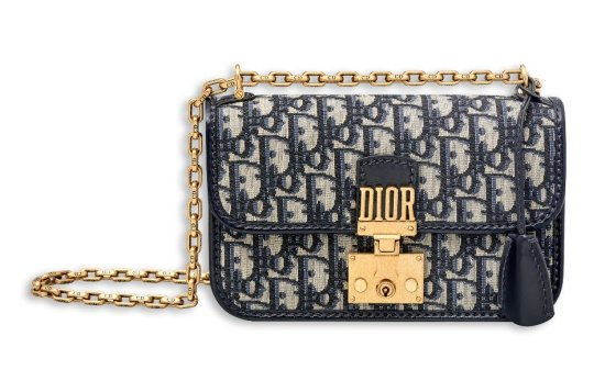 Dior Dior Addict small flap bag oblique canvas as seen on Rihanna