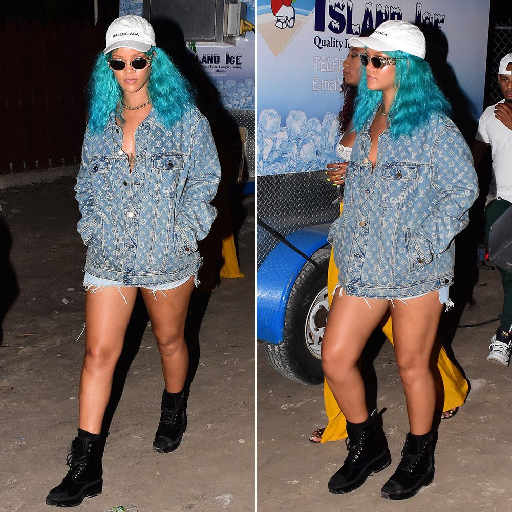 c39aea4cc1e2 The annual festival ends tomorrow on Kadooment Day and everyone expects  Rihanna to parade with Aura