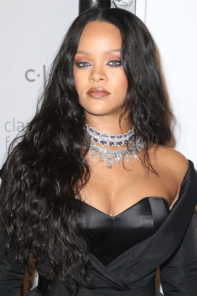 Rihanna Chopard necklaces 2017 Diamond Ball