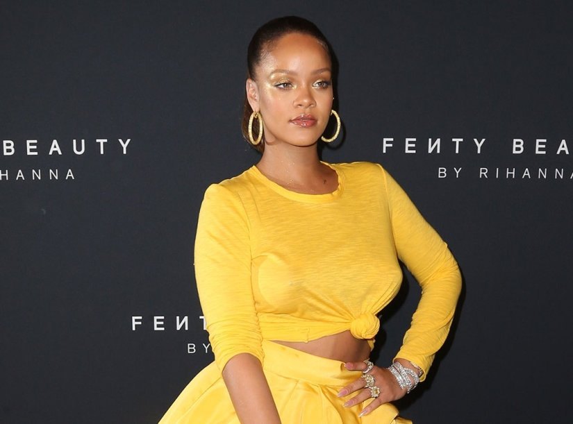 Rihanna Fenty Beauty makeup New York launch