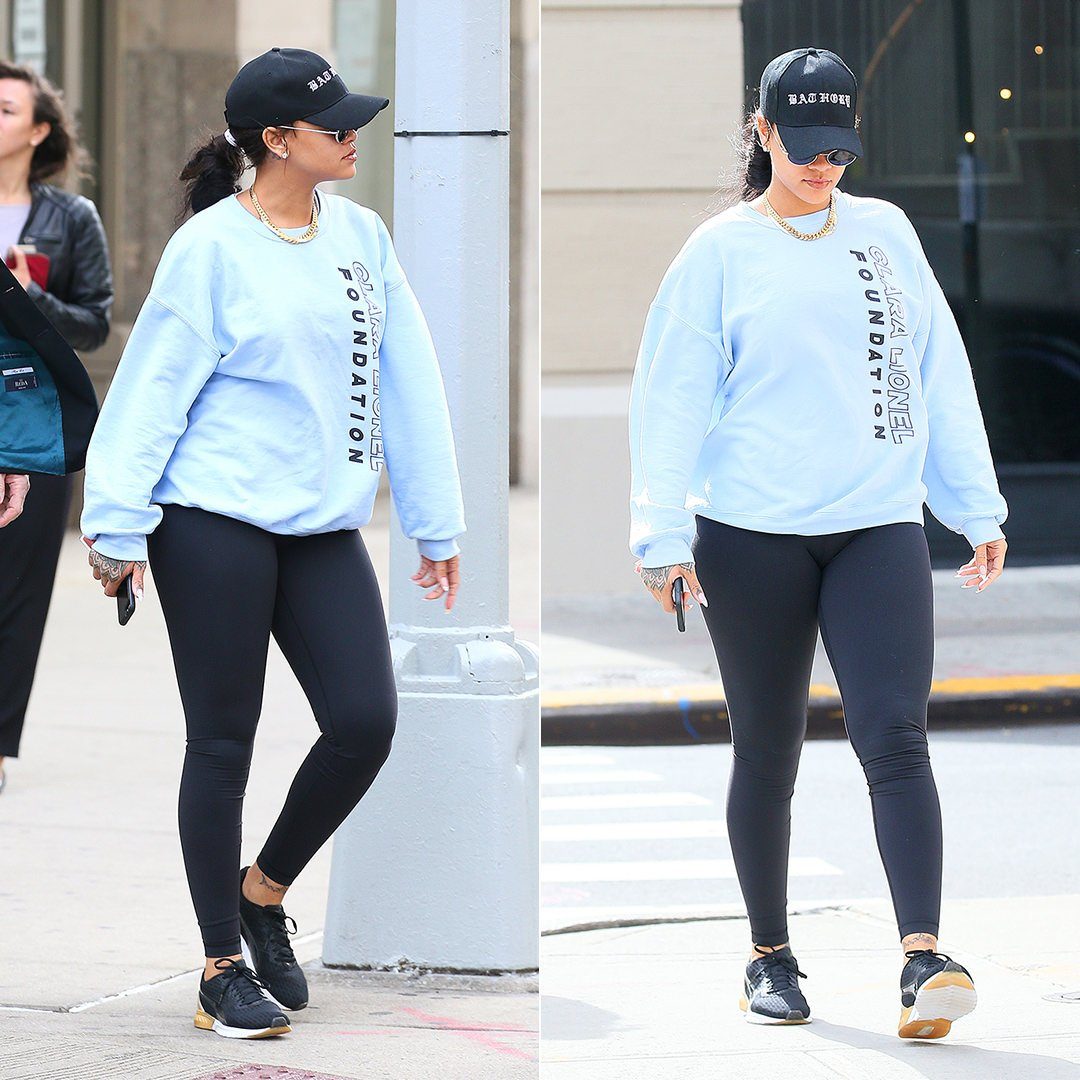 info for 02cef 18882 Rihanna Works Out in Clara Lionel Foundation Merch - Haus of ...