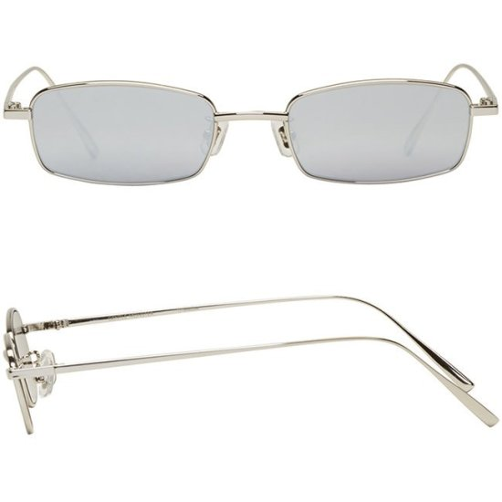 Gentle Monster Palabra square metal sunglasses as seen on Rihanna