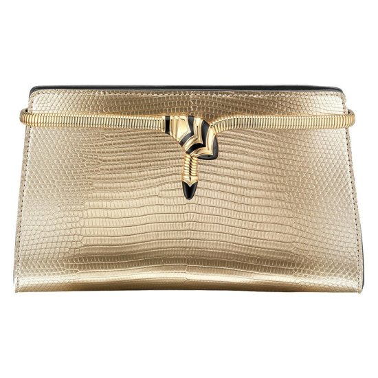 Bulgari Serpenti Cocktail clutch as seen on Rihanna