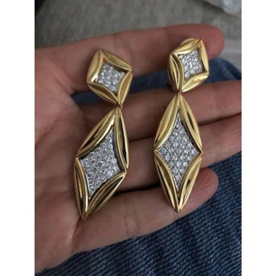 Jill Heller vintage earrings as seen on Rihanna