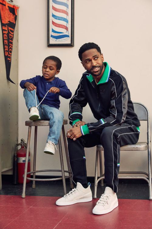 Puma Big Sean Spring 2018 collection T7 track jacket campaign