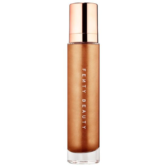 Fenty Beauty Body Lava body luminizer in Brown Sugar as seen on Rihanna