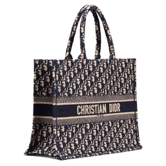 Dior oblique canvas book tote as seen on Rihanna