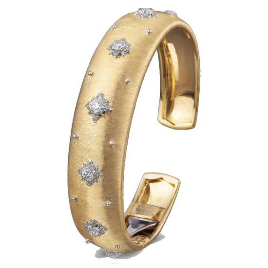Buccellati Macri cuff bracelet as seen on Rihanna