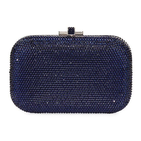 Judith Leiber crystal slide lock clutch as seen on Rihanna