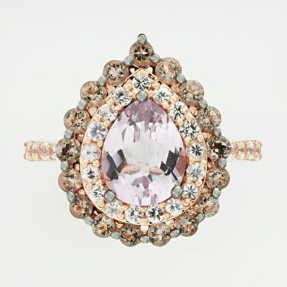Le Vian amethyst ring as seen on Rihanna