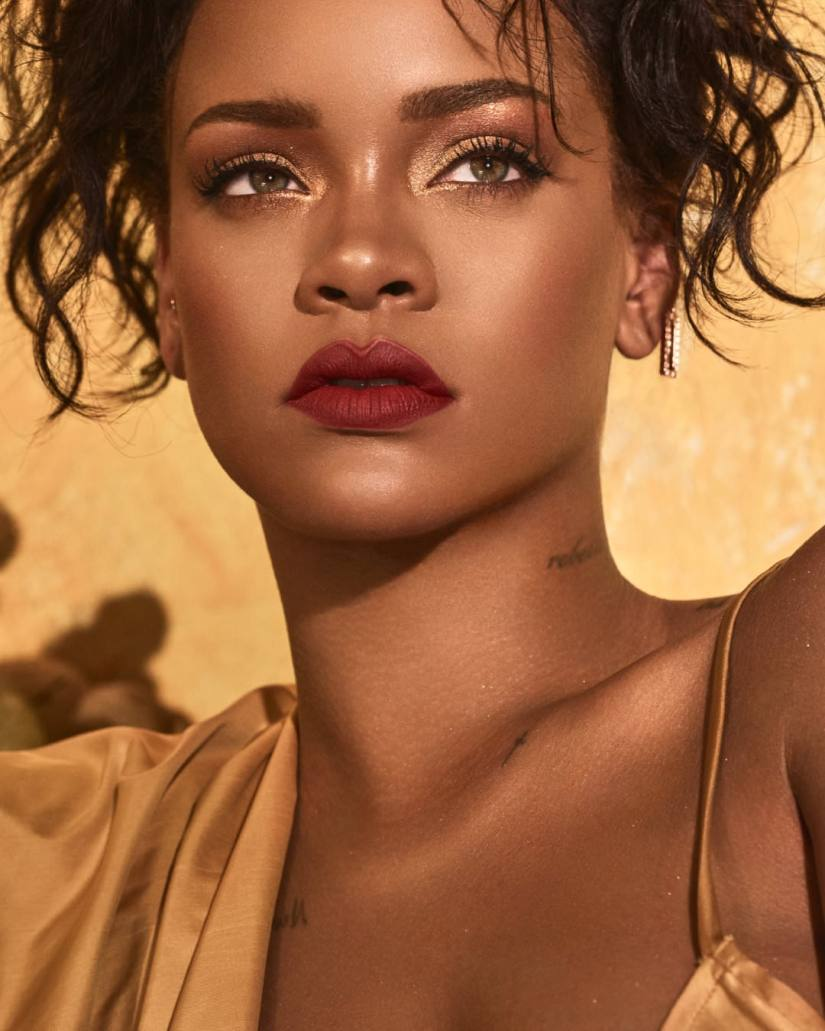 Rihanna Fenty Beauty Moroccan Spice collection campaign image