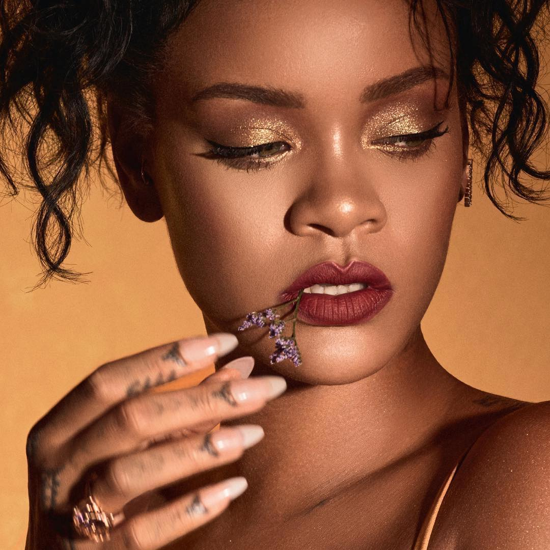 Rihannas Makeup For Fenty Beauty Moroccan Spice Collection Haus