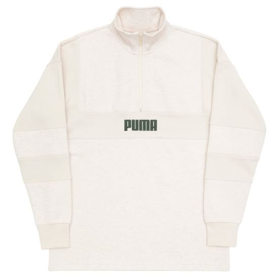 Puma Big Sean half zip logo pullover sweatshirt as seen on Rihanna