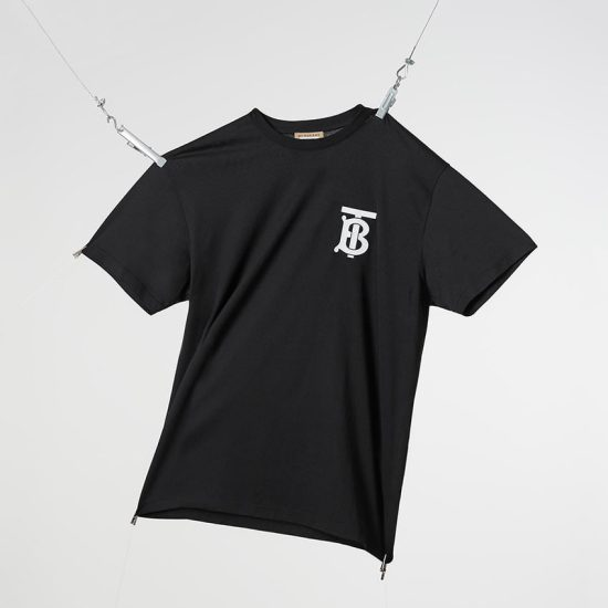 Burberry Thomas Burberry monogram black t-shirt